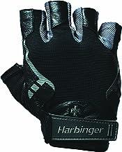 Harbinger Pro Fitness Handschoen heren, gewichthefferhandschoenen, wasmachinebestendig, blauw, (S/M/L/XL/XXL)