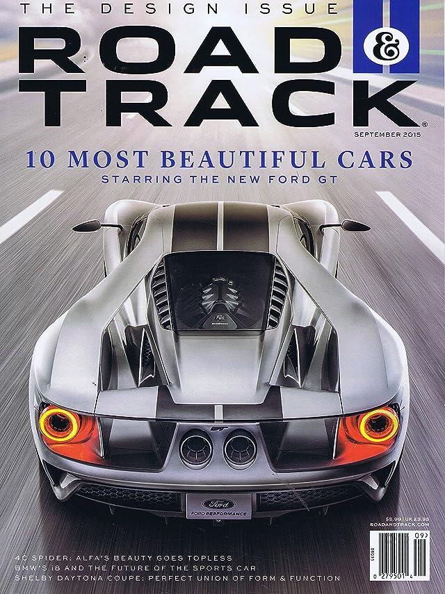 エッセイ危機暗記するRoad & Track [US] September 2015 (単号)