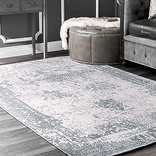 nuLOOM Shawanna Vintage Area Rug, 5' x 8', Slate Blue