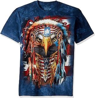 The Mountain Men's Native Patriot Eagle T-Shirt