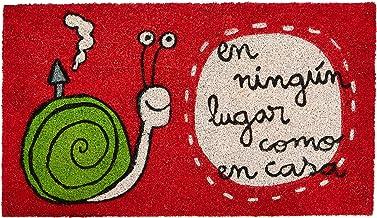 Laroom Doormat, Vinyl, Red, 40 x 70 cm