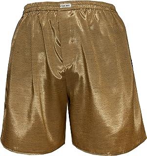 Thai Silk Men's Comfort Sleep Underwear Boxer Shorts