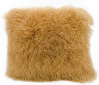 Amazon.com: PILLOW DÉCOR - Almohada (100% piel de oveja ...