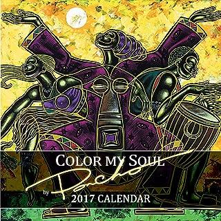 brown calendar 2017