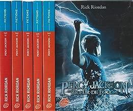 Percy Jackson (complet en 5 tomes : 1/Le voleur de foudre, 2/La mer des monstres, 3/Le sort du titan, 4/La bataille du labyrinhe, 5/Le dernier olympien)