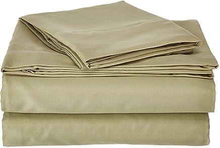 Clara Clark Affordable Microfiber 4 pc Bed Sheet Set - King Size,  White