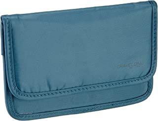 Travelon Luggage Safe Id Pouch, Teal, One Size
