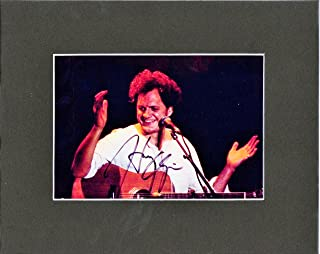Big Action Harry Chapin, 8 X 10 Custom MATTED Photo Autograph Display