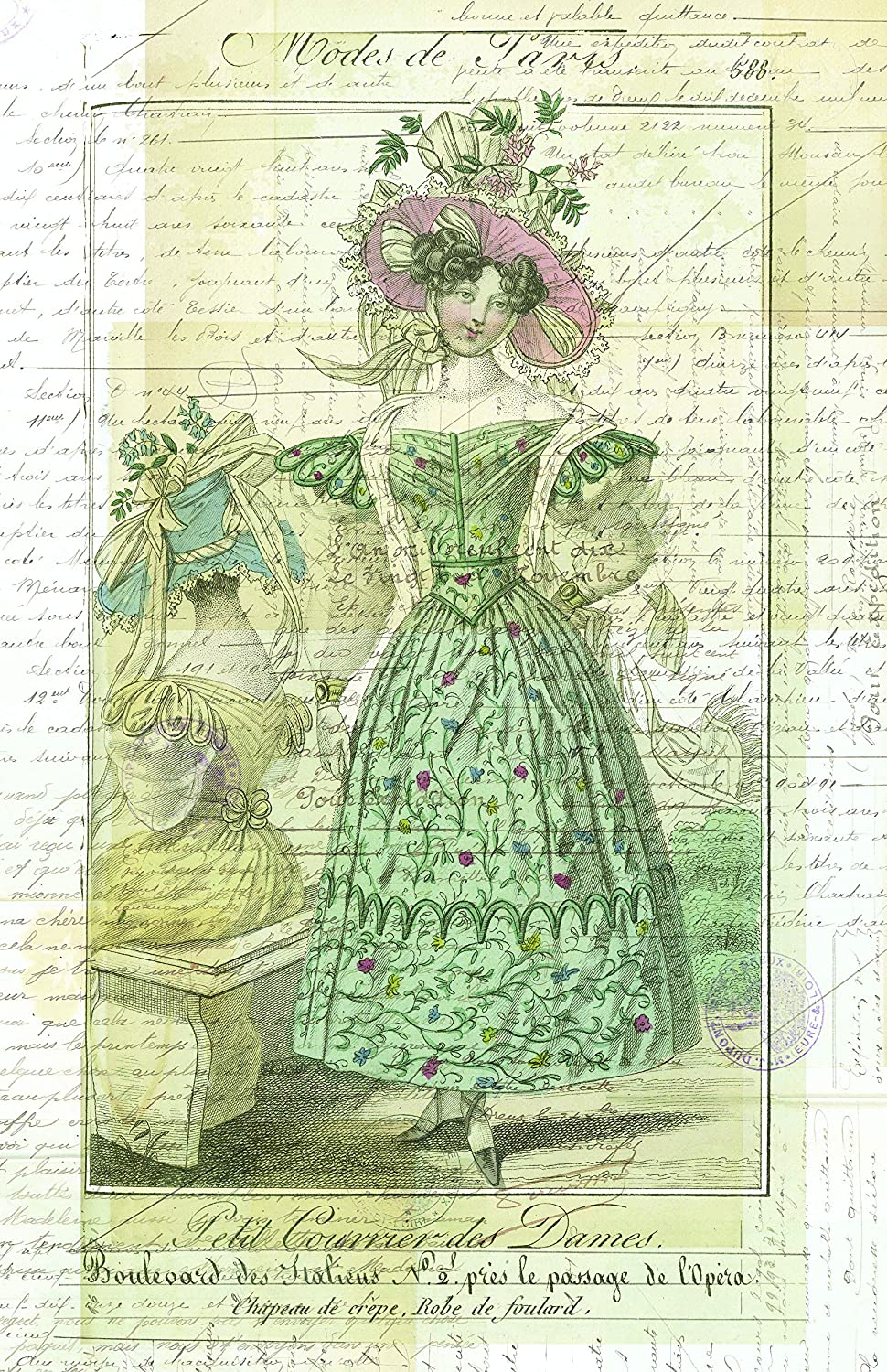 French Print No. 1117A Direct sale of manufacturer - Sizes: 16x20 5x7 Max 78% OFF 4x6 8.5x11 11x17