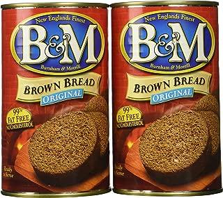 B & M Bread Brown Plain