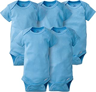 Baby Girls' 5-Pack Solid Onesies Bodysuits
