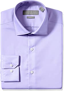 Men's Slim Fit Non-Iron Cotton Dress Shirt