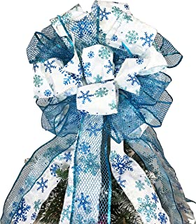 Best blue and silver tree topper Reviews