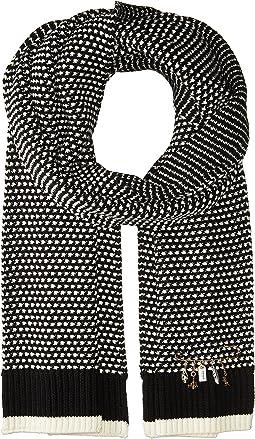 COACH - Charm Knit Scarf