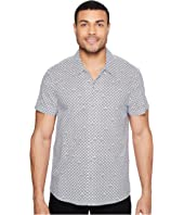 Kenneth Cole Sportswear - Short Sleeve Arch Camp Shirt