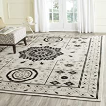 Safavieh Kenya Collection KNY625A Handmade Ivory and Grey Premium Wool Area Rug (6' x 9')
