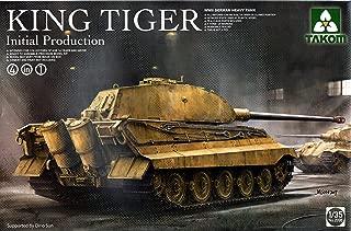 TAK02096 1:35 Takom King Tiger Sd.Kfz.182 Initial Production (4 in 1) [MODEL BUILDING KIT]