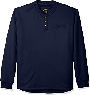Stanley Men's Workwear Big and Tall Size Sherpa Lined Henleythermal Shirt