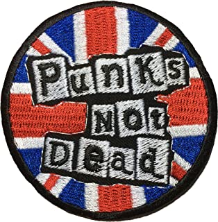 punk rock back patches