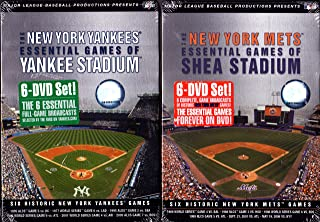 The New York Mets - Essential Games of Shea Stadium Set ,The New York Yankees- Essential Games of Yankee Stadium Set : NEW YORK 2 PACK