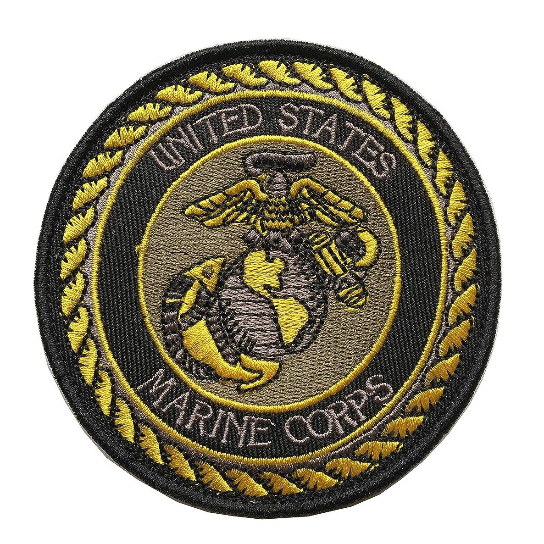 U.S Navy Marine Corps Army/USMC/Don Tactical Military Hook & Loop Patch (C-USMC Green)