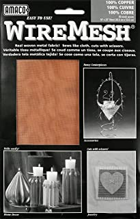 American Art Clay WireMesh #80 16x20 Sheet-Copper