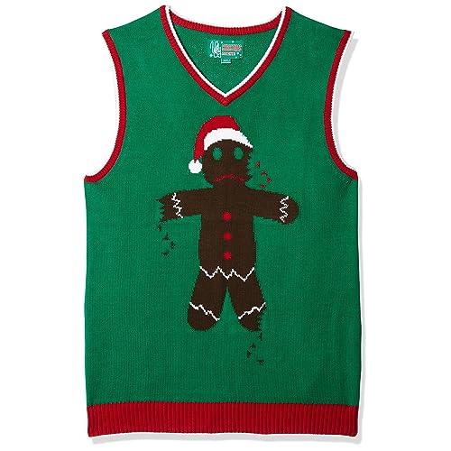 Christmas Vest.Men S Christmas Vests Amazon Com