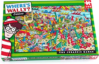 Where's Wally - The Jurassic Games - 100 piece puzzle