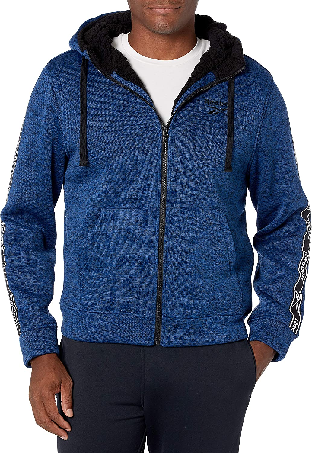 Reebok Men's Regular Animer and price revision store Soft Woven Jacket