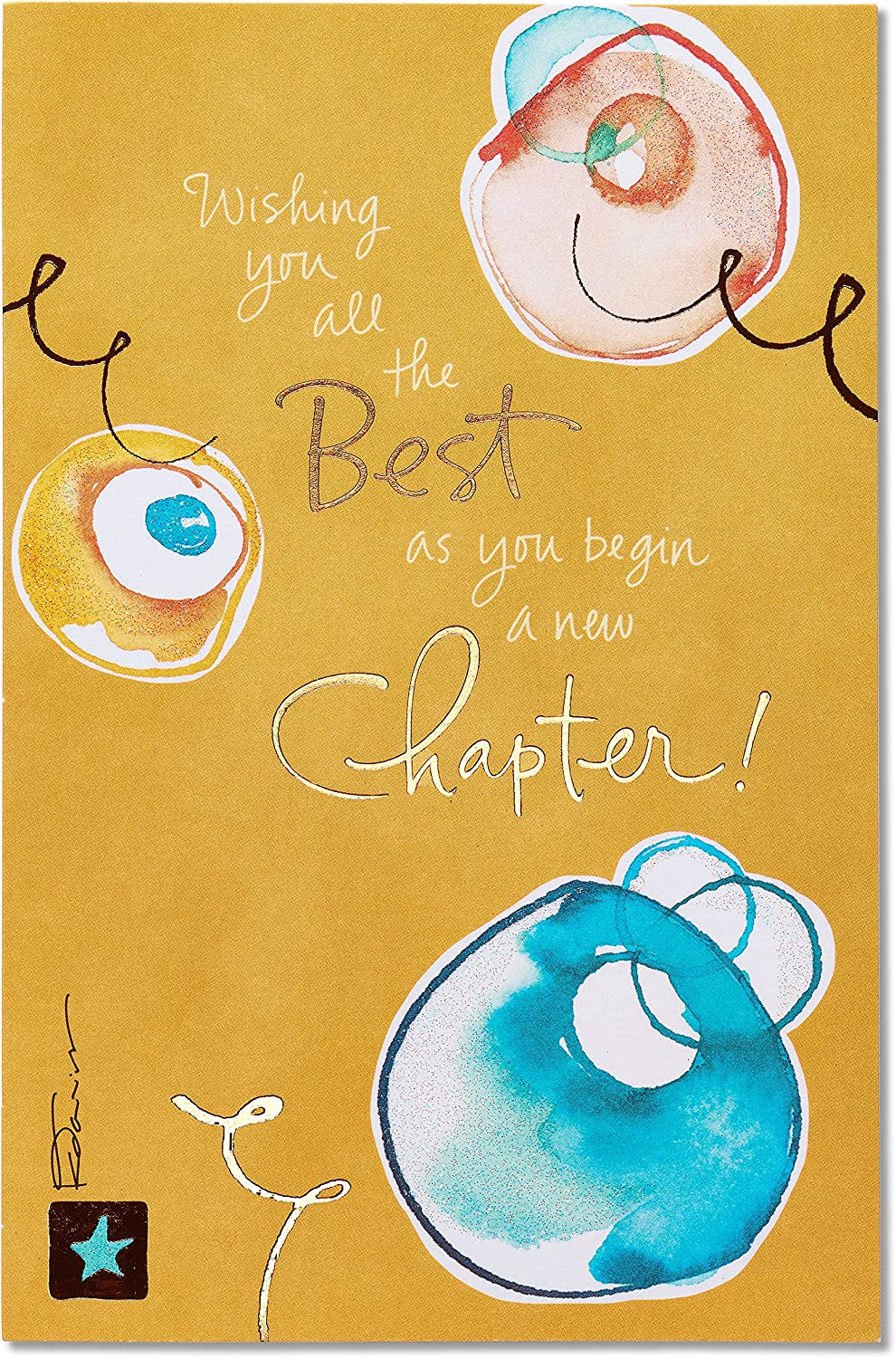 American Greetings Goodbye Congratulations Card (New Chapter)