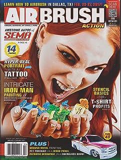 Airbrush Action Magazine January/February 2017