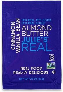 Julie's Real Nut Butter, Cinnamon Vanilla Bean Almond Butter, Single Serve Packets - 10 PACK