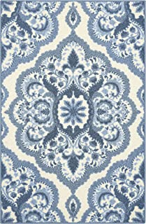 Best blue kitchen rugs washable Reviews