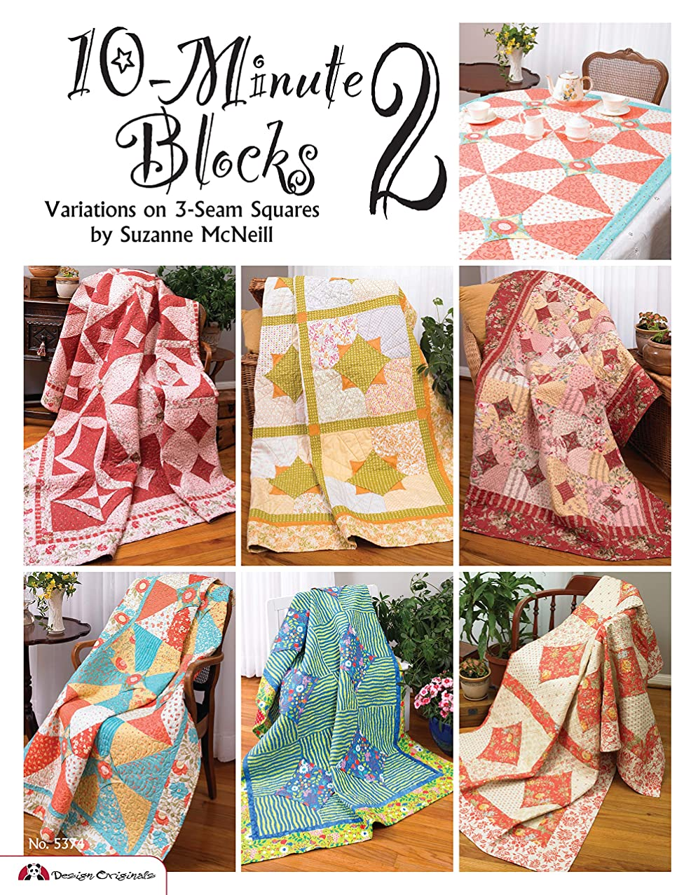 10-Minute Blocks 2: Variations on 3-Seam Squares