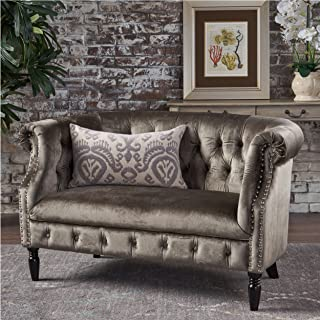 Best victorian leather loveseat Reviews