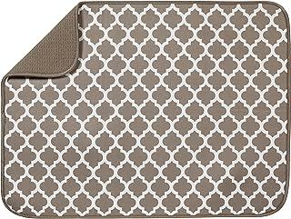 S&T XL Microfiber Dish Drying Mat, 18