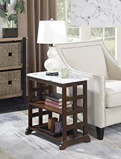 Convenience Concepts American Heritage Baldwin Chairside Table, Espresso