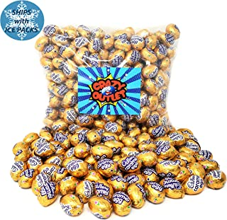 CrazyOutlet Pack - Cadbury Caramel Mini Eggs, Milk Chocolate Easter Candy, Individually Wrapped, 2 lbs
