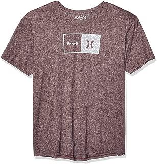 Hurley Men's Short Sleeve Natural Tri-Blend Tshirt