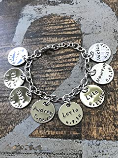 bracelet with grandchildren names