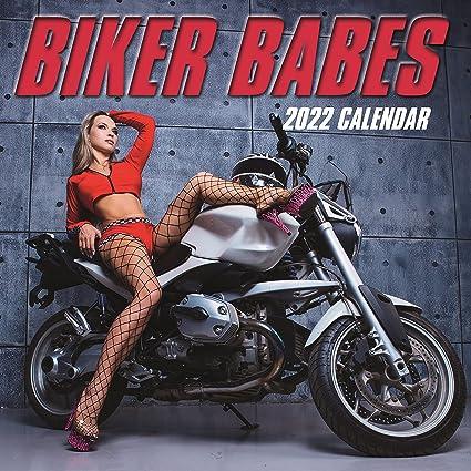 Calendrier 2022 Femme CALENDRIER 2022 SEXY NUE ET MOTO PHOTO(sg) 30x30 CM   FEMME