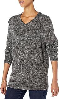 Goodthreads Men's Supersoft Marled V-Neck Sweater