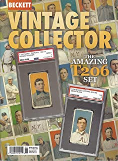 NEWEST GUIDE: Beckett Vintage Collector Price Guide (November 7, 2019 release / T206 cover)