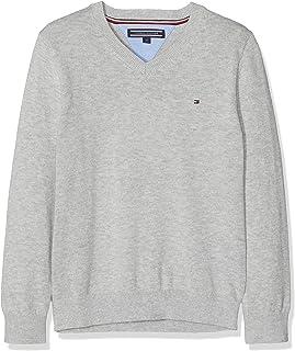 Tommy Hilfiger Basic V-Neck Sweater Pull Garçon