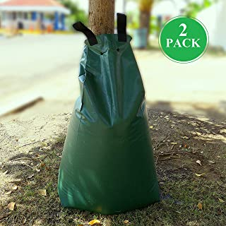 JM GARDENS – 2 Pack Tree Watering Bag 20 gallons - Slow Release Watering Bag - Automatic Drip Irrigation System - Durable ...