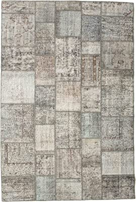 "Patchwork rug 6'8""x9'10"" (202x300 cm) Modern Carpet"