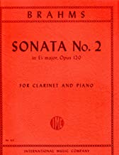 Brahms: Sonata No. 2 in E-flat Major, Opus 120 for Clarinet and Piano