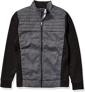 Cutter & Buck Mens MCC00003 Wind-Resistant Discovery Windblock Hybrid Jacket Jacket
