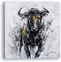 BULL COWS print PICTURE  BUBBLEGUM WALL ART A4  unframed 23 ANIMAL PORTRAIT