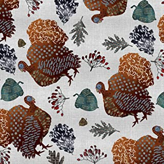 Altoona Design Thanksgiving Parade of Gobbles Paper Placemats 24/Pack Square Brown ParadeofGobbles-Charger